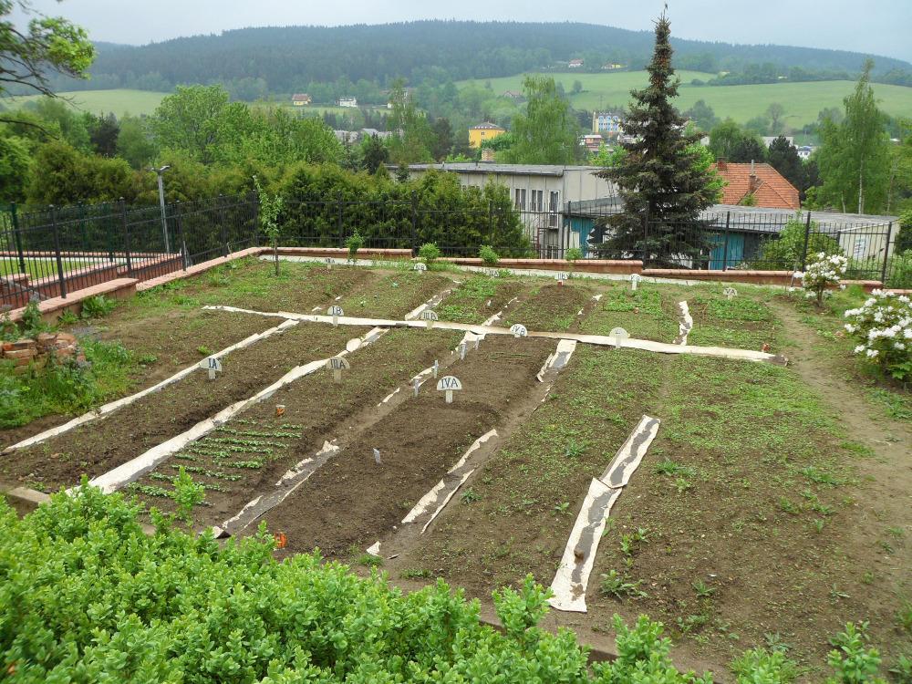 Školní zahrada, ZŠ Vodňanská Prachatice